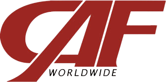 CAF Worldwide logo